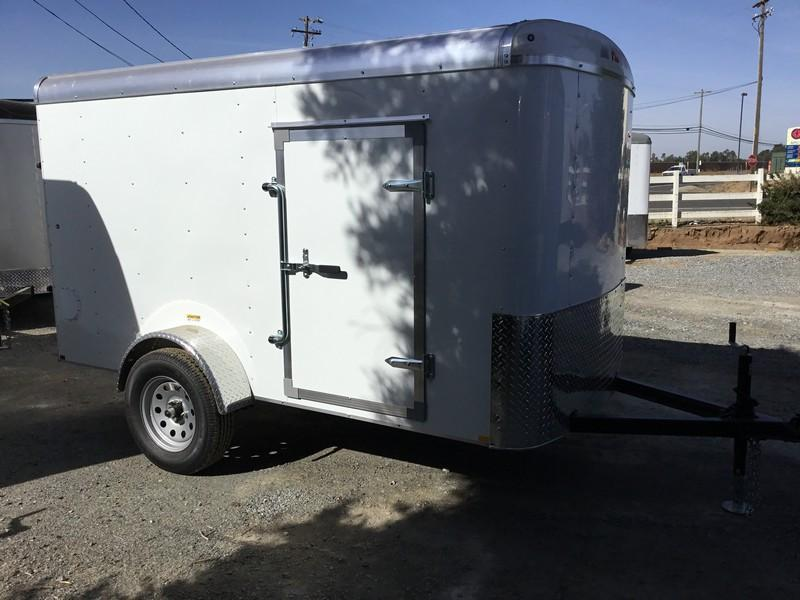 New 2019 Mirage MXL510SA2 5x10 Enclosed Cargo Trailer