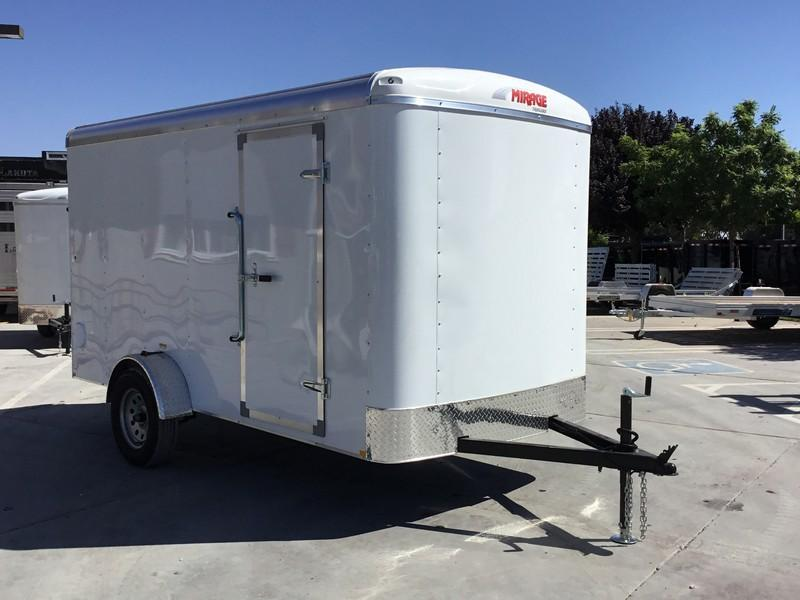 New 2019 Mirage MXPO612SA 6x12 Enclosed Cargo Trailer