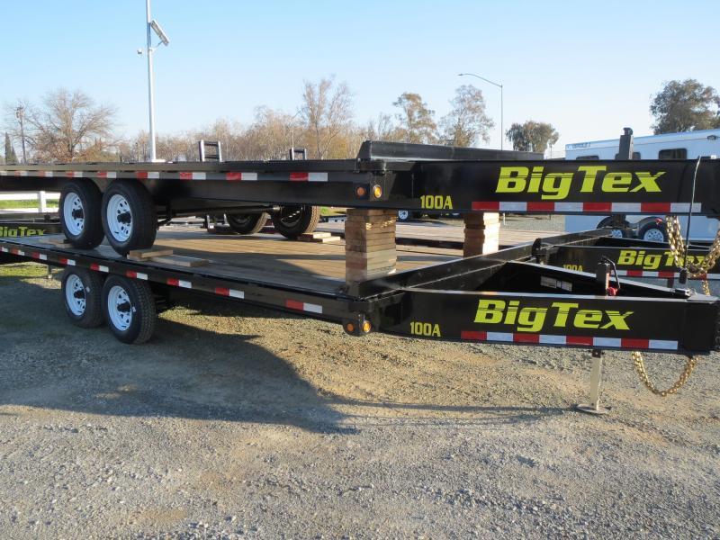 New 2018 Big Tex 10OA-18 Flatbed Trailer 8.5x18 VIn21024
