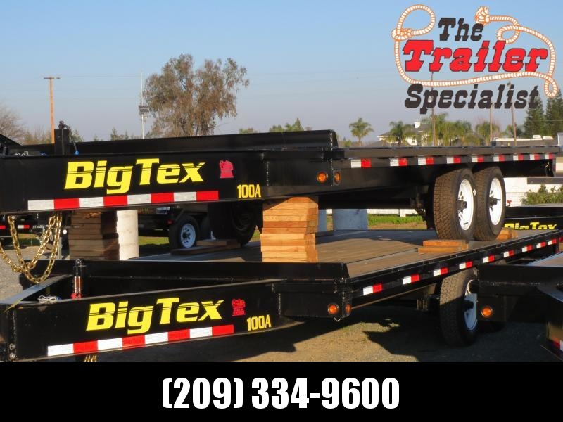 New 2018 Big Tex 10OA-18 Flatbed Trailer 8.5x18 VIn21024 in Hooper Bay, AK