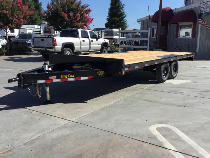 New 2020 Big Tex 10OA-18 Flatbed Trailer 8.5x18 10K GVW in Ashburn, VA