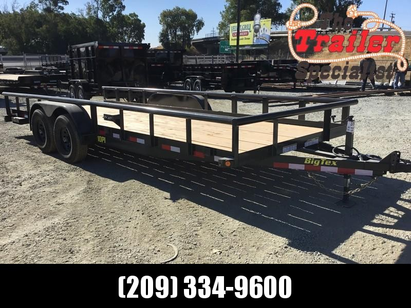 New 2019 Big Tex 10PI-20 7x20 10K GVW Pipe Utility Trailer