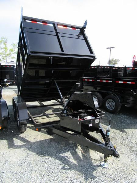 New 2019 Five Star DT293 7k GVW 6x8 Dump Trailer