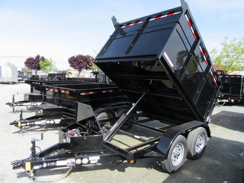 New 2019 Five Star DT293 7k GVW 6x8 Dump Trailer Vin 32804