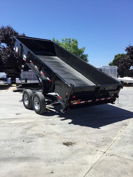 New 2020 Big Tex 14LP-16-6SIR 7x16 14K Low profile Dump Trailer