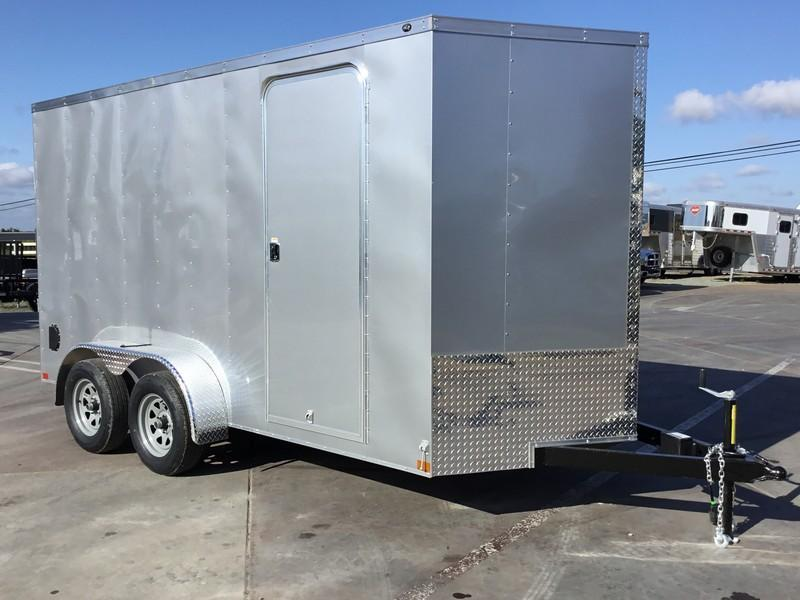 New 2018 Wells Cargo WCVG714T 7x14 Enclosed Cargo Trailer