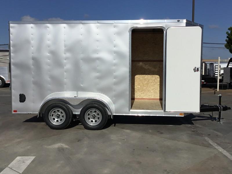 New 2018 Wells Cargo WCVG714T 7x14 Enclosed Cargo Trailer