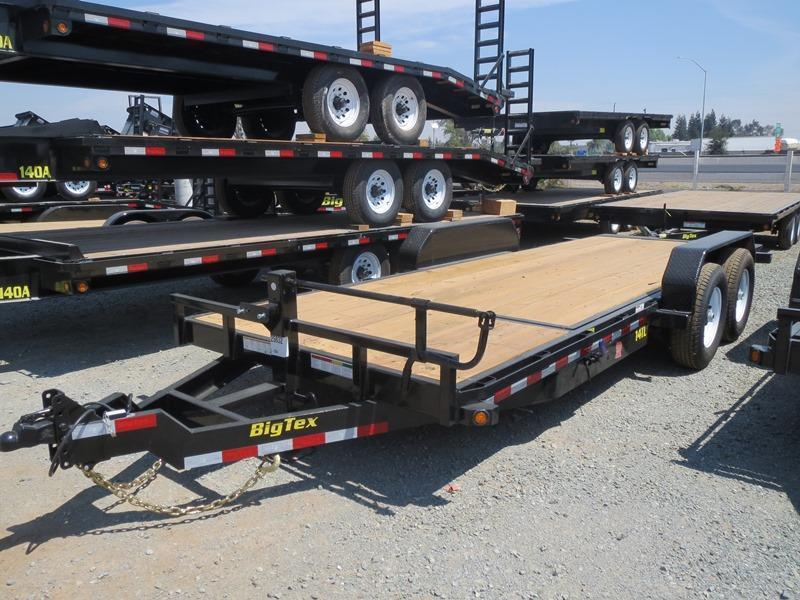 New 2018 Big Tex 14TL-20 7x20 14K GVW Equipment Trailer VIN:23790