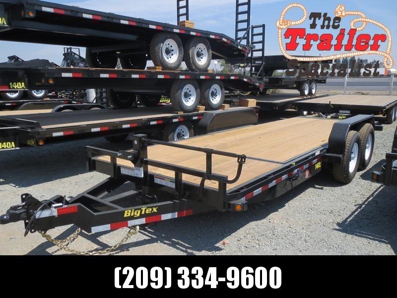 New 2020 Big Tex 14TL-20 7x20 14K GVW Equipment Trailer