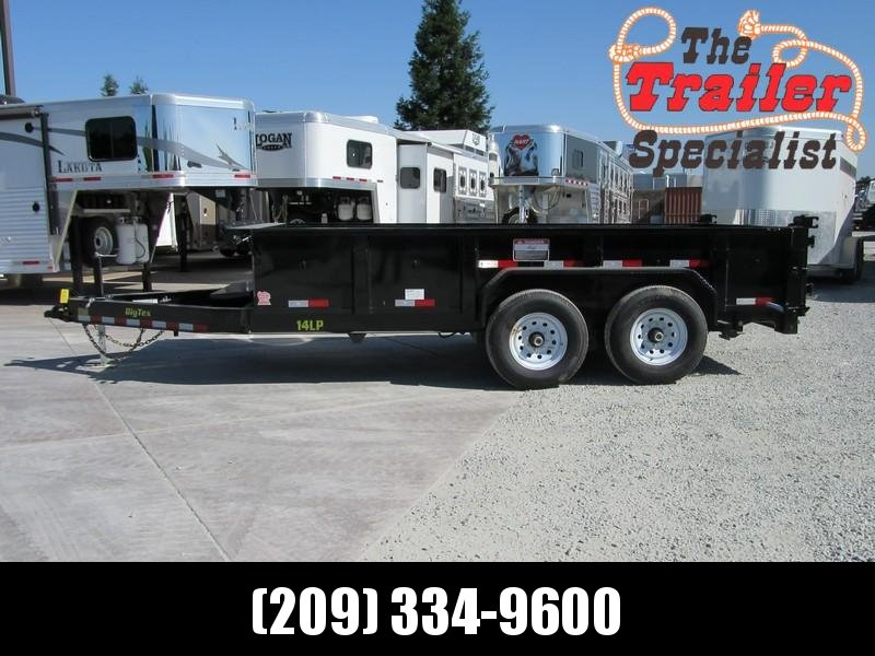New 2018 Big Tex 14LP-14 7x14 14K Low profile Dump Trailer