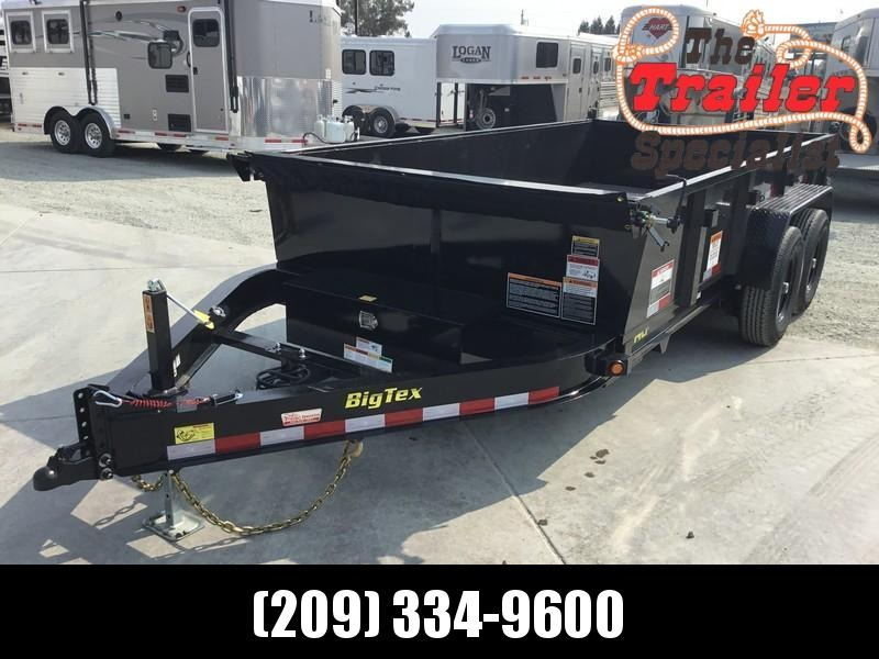 New 2019 Big Tex 14LP-14 7x14 14K Low profile Dump Trailer  in Ashburn, VA