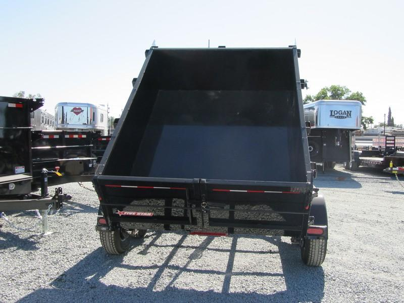 New 2018 Five Star DT287 10K Dump Trailer 6X8