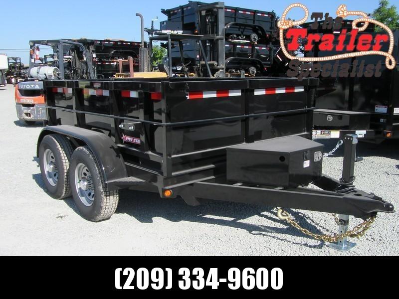 New 2018 Five Star DT287 10K Dump Trailer 6X8