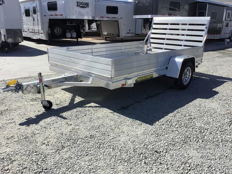 "New 2018 Aluma 6810 68""x10' Aluminum Utility Trailer"