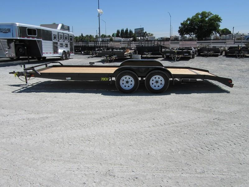 New 2019 Big Tex 70CH-20DT 7x20 7K GVW Car / Racing Trailer