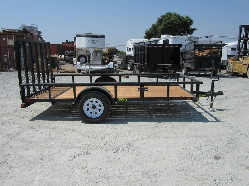 New 2017 Big Tex 35SA-12X 7x12 Utility Trailer Vin78012