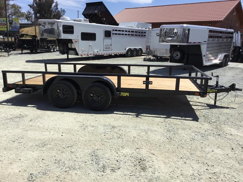 New 2019 Big Tex 70PI-16X 7x16 7K Pipe Utility Trailer