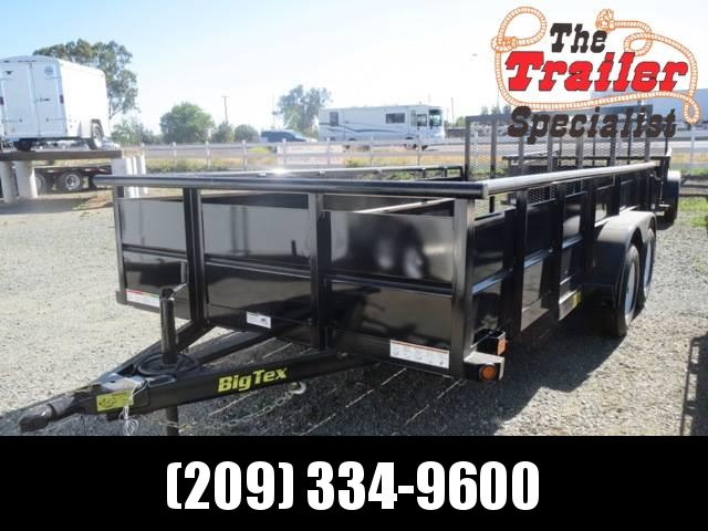 New 2018 Big Tex 70TV-16 7X16 7K Utility Trailer