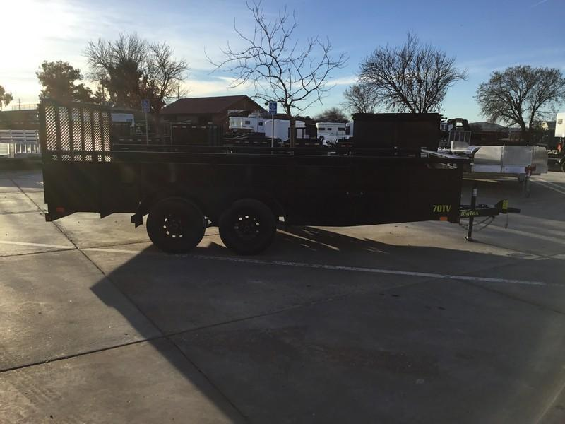 New 2019 Big Tex 70TV-16 7X16 7K Utility Trailer  in Ashburn, VA