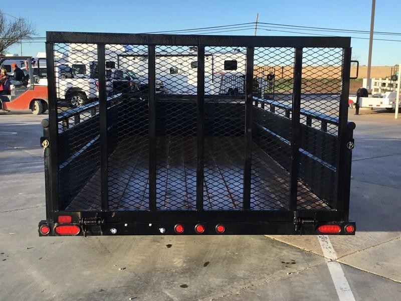 New 2019 Big Tex 70TV-16 7X16 7K Utility Trailer