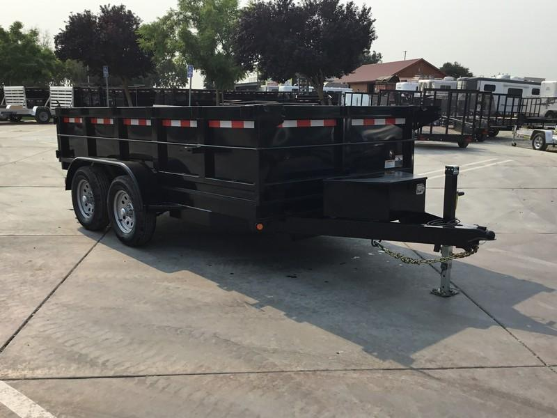 NEW 2017 Iron Panther DT212 6x12 7k Dump Trailer