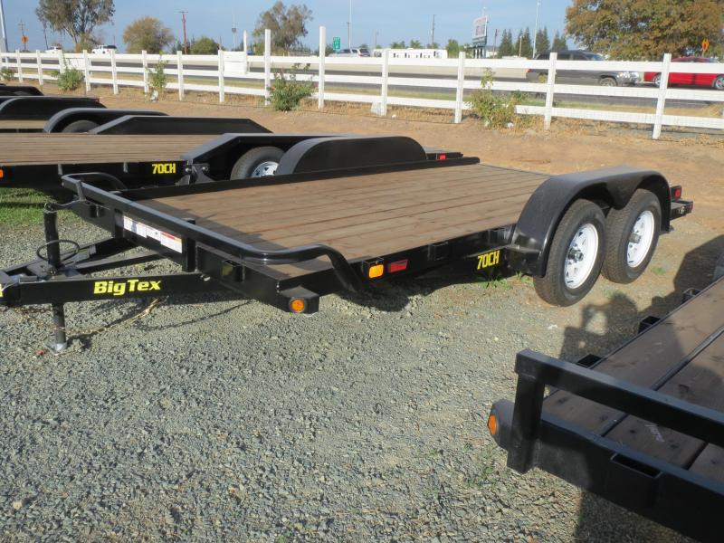 2017 Big Tex Trailers 70CH-14 7x14 7K GVW Car Hauler Trailer VIN: 18388