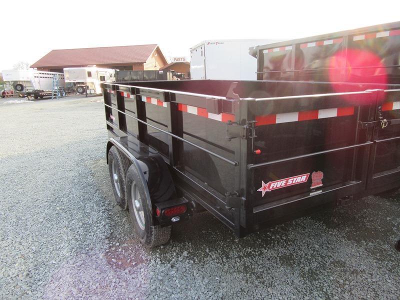 New 2018 Five Star DT261 6x12 10K GVW Dump Trailer