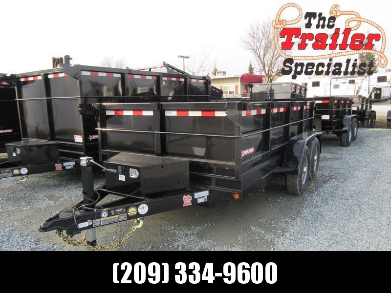 New 2018 Five Star DT261 6x12 10K GVW Dump Trailer