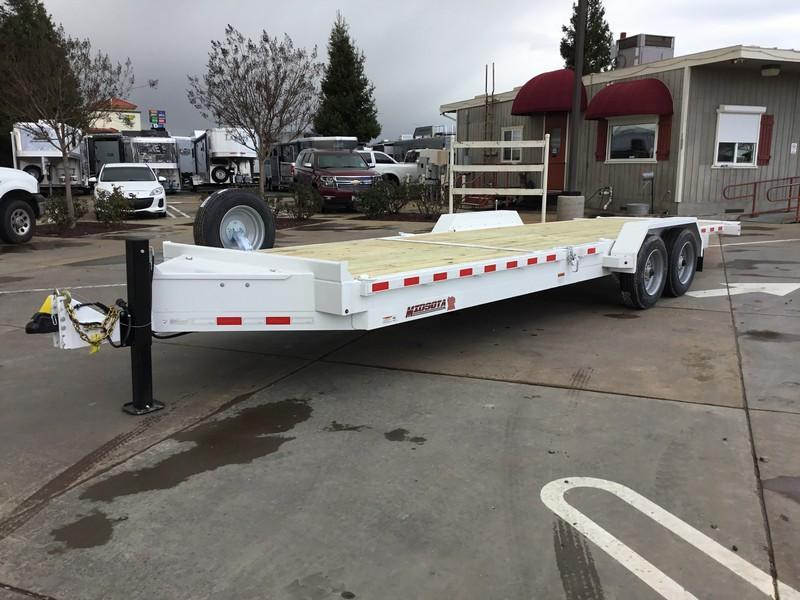 NEW Heavy Duty 2019 Midsota TB-24 7x24 17600 GVWR  Equipment Trailer