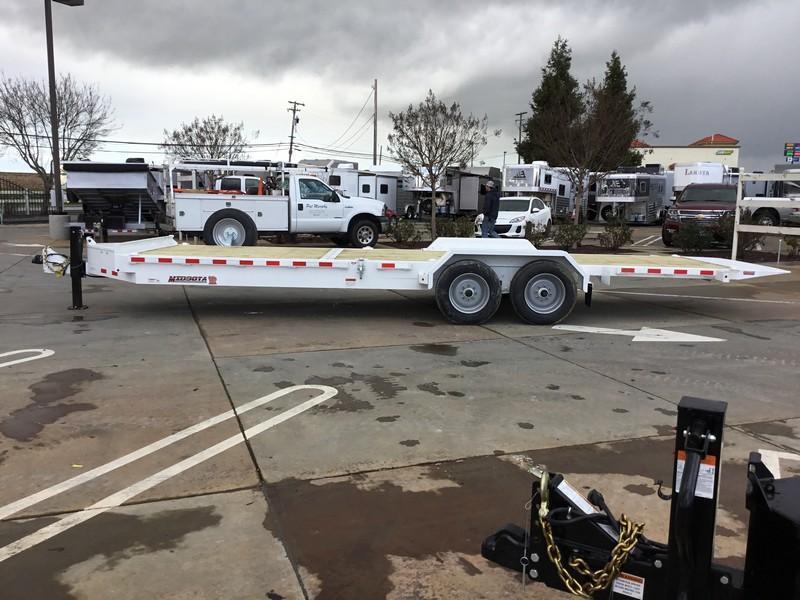 NEW Heavy Duty 2019 Midsota TB-24 7x24 17600 GVWR  Equipment Trailer