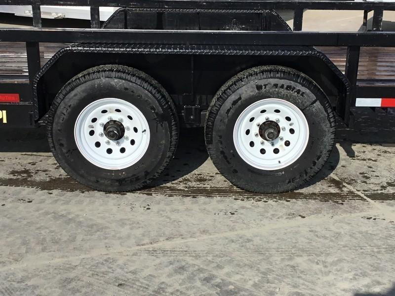 """Used 2015 Big Tex 14PI-18 Utility Trailer 83"""" x 18 14K"""