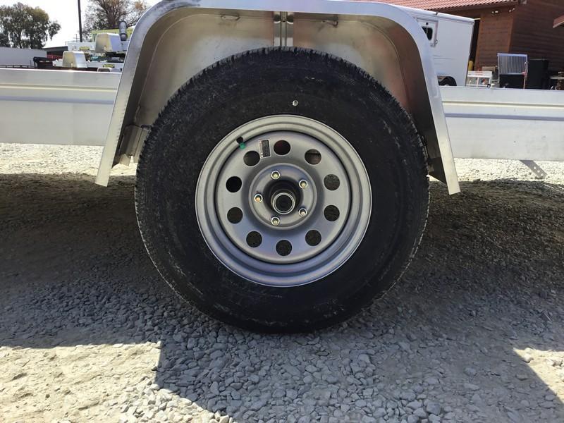 "New 2019 Aluma 7812ESW 78""x12' Aluminum Utility Trailer"
