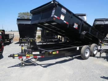 New 2018 Big Tex 14LX-16 Dump Trailer 7x16 14k