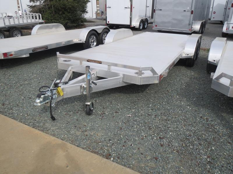 "New 2019 Aluma 8218 25th Anniversary 82""x18' Alum. Car Hauler Vin: 79470"