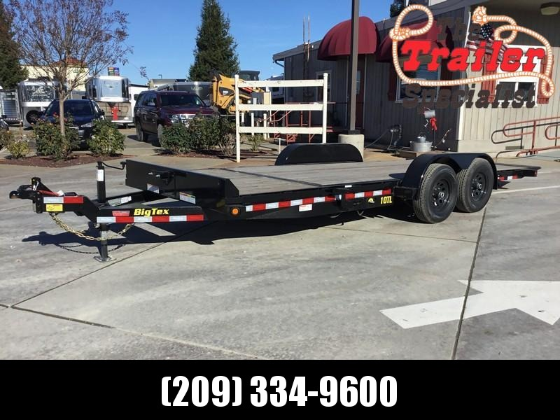 New 2019 Big Tex 10TL-20 80x 20 Tilt Equipment Trailer
