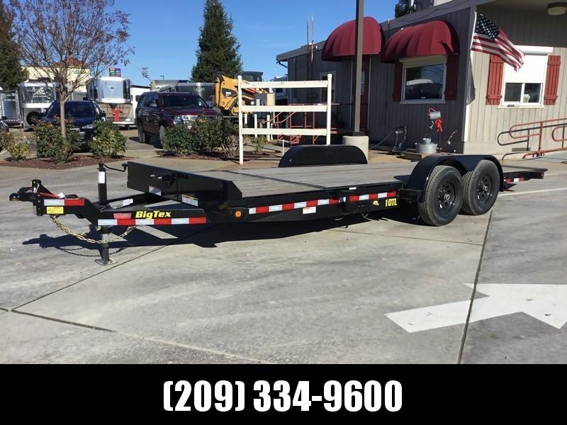 New 2019 Big Tex 10TL-20 80x 20 Tilt Equipment Trailer  in Ashburn, VA
