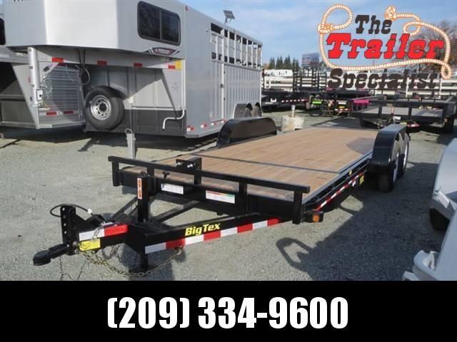 Big Tex 10TL-20 80x 20 Tilt Equipment Trailer