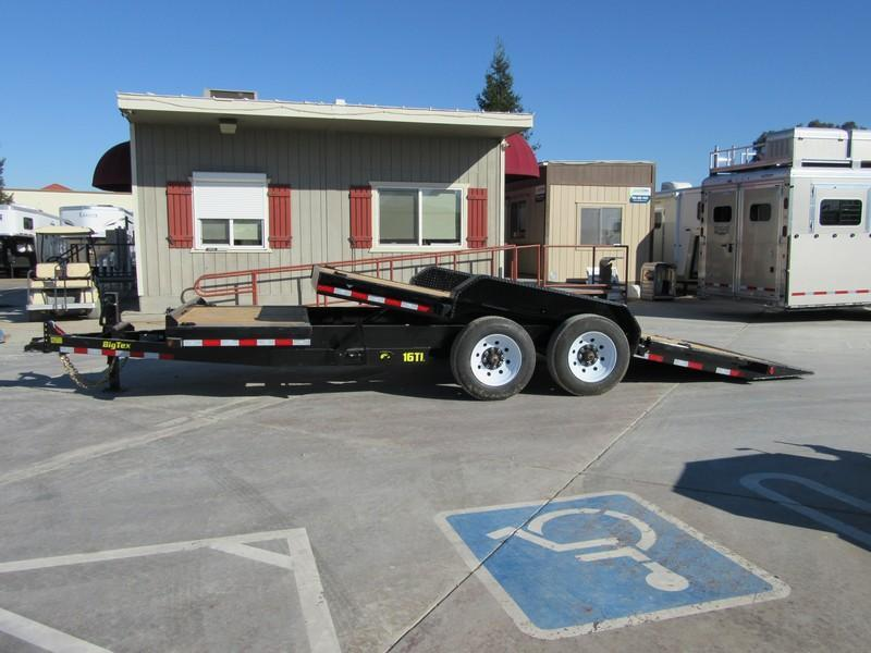 "New 2018 Big Tex Trailers 16TL-22 Equipment Trailer 81""X22 16K"