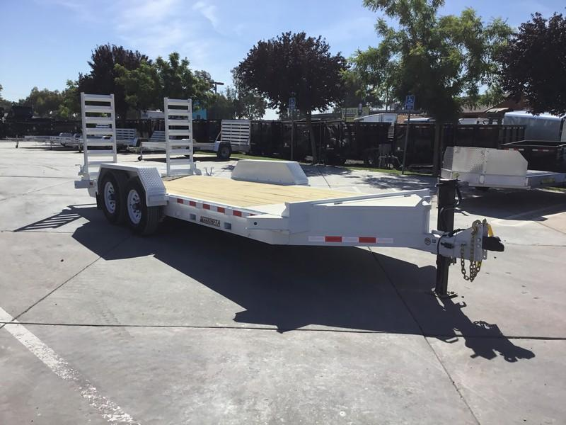 NEW Heavy Duty 2019 Midsota ST - 18 7x18' 15400 GVW Equipment Trailer