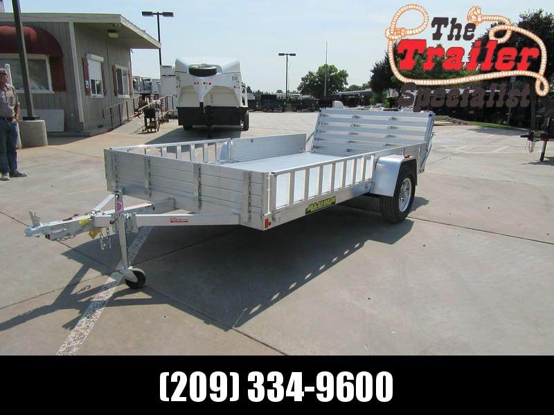 "NEW 2020 Aluma 8112SR 81""x14' Utility Trailer"