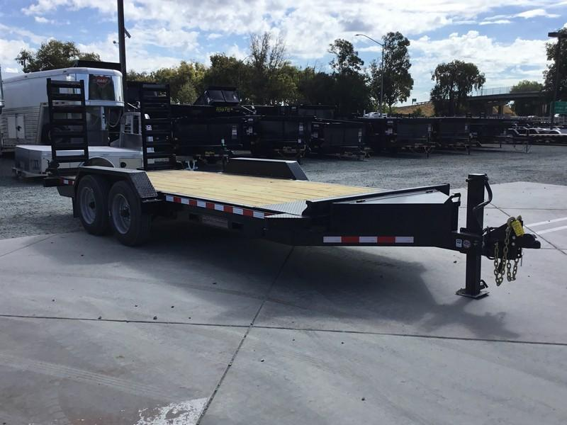 NEW Heavy Duty 2019 Midsota ST-18 7x18 15400 GVW Equipment Trailer