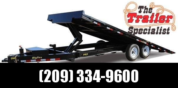 New 2019 Big Tex 14OT-24 14K 8.5x24 Tilt Deck Over Equipment Trailer