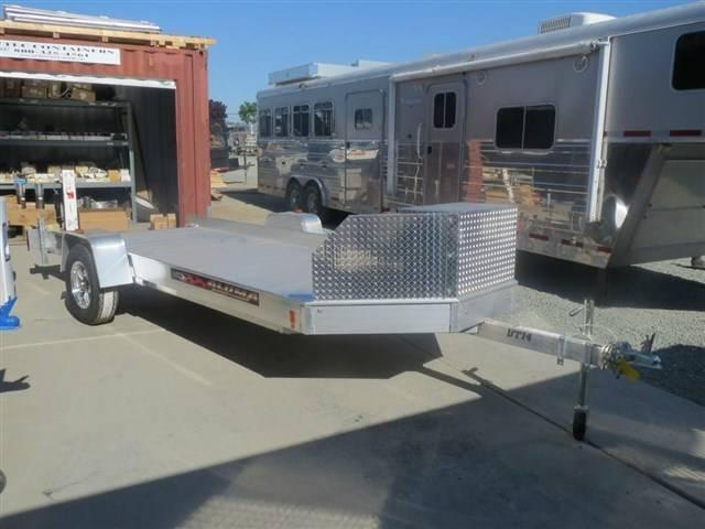 NEW 2017 Aluma UT14 71.5x14' aluminum ATV Trailer VIN60709 in Ashburn, VA
