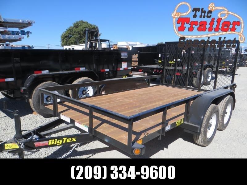 New 2019 Big Tex 50LA-12-4RG Utility Trailer 6.5x12 5k GVW