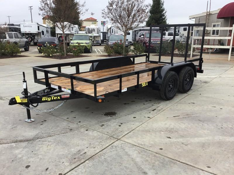 New 2019 Big Tex 50LA-12-4RG Utility Trailer 6.5x12 5k GVW