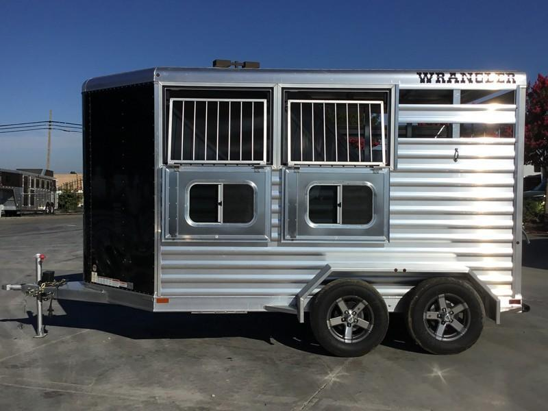 NEW 2019 Elite Trailers Wrangler 2H BP Plus Horse Trailer