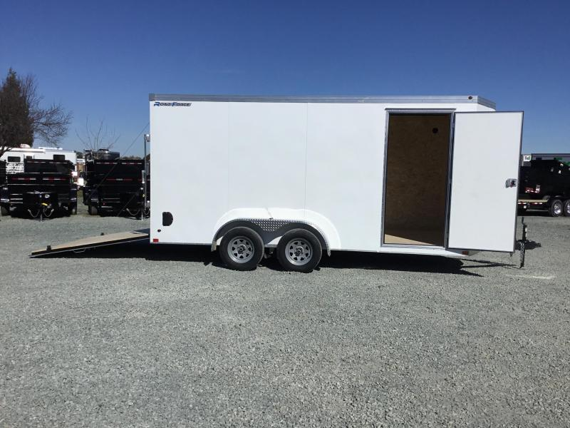 NEW 2019 Wells Cargo RFV716T2 7x16 Enclosed Cargo Trailer