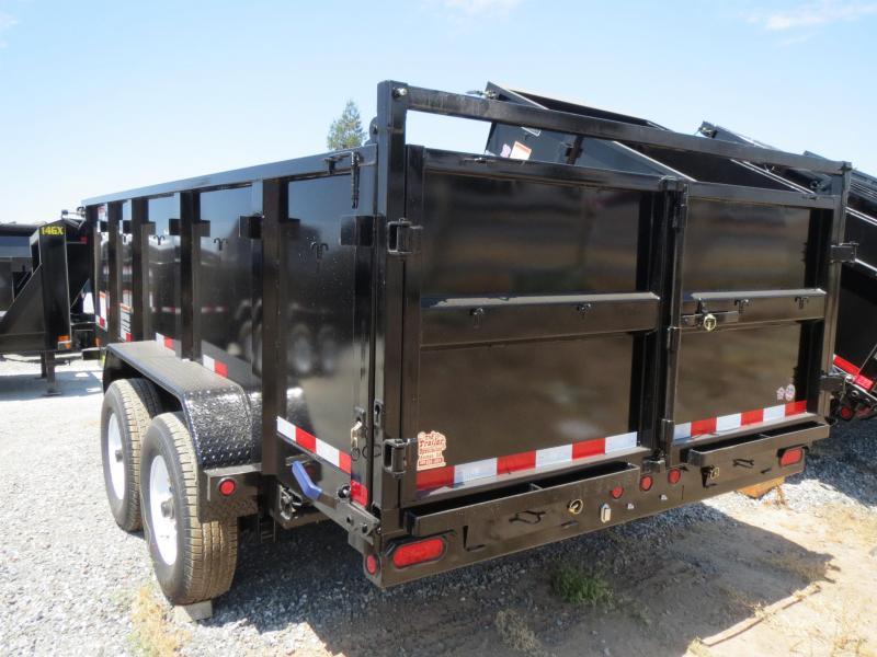 New 2018 Big Tex 14LX-14P3 7x14 3' Sides 14K Dump Trailer