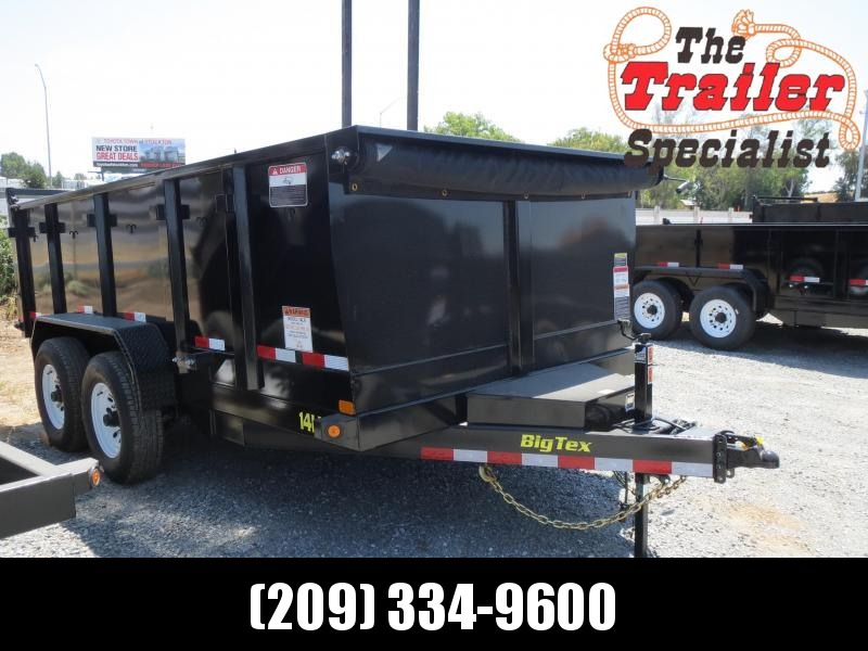 New 2020 Big Tex 14LX-14P3 7x14 3' Sides 14K Dump Trailer  in Ashburn, VA