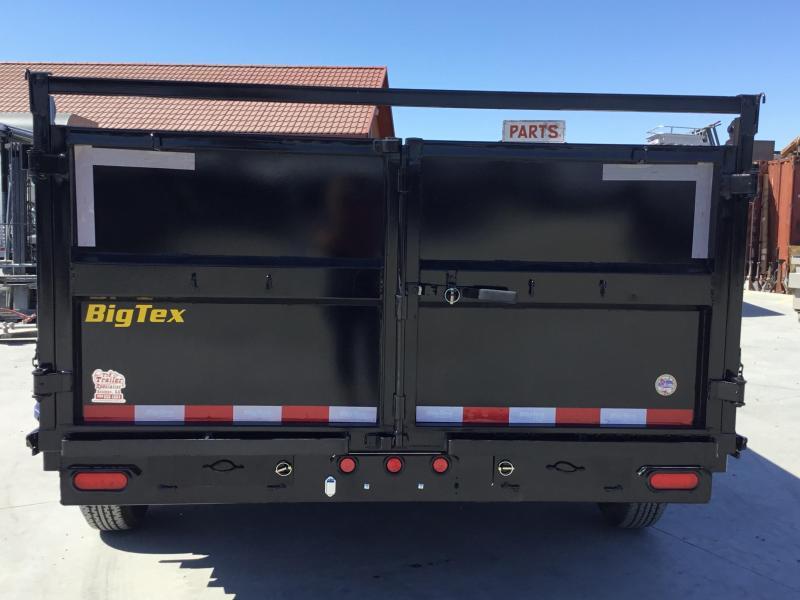 New 2020 Big Tex 14LX-14P3 7x14 3' Sides 14K Dump Trailer